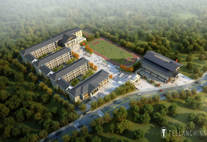 大渡镇中心小学和市民中心服务项目
